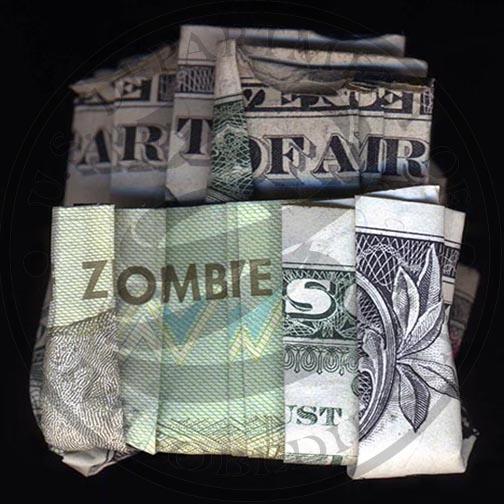 I Dollari parlanti di Dan Tague | Collater.al - Art Faie Zombies (Zimbabwe & US)