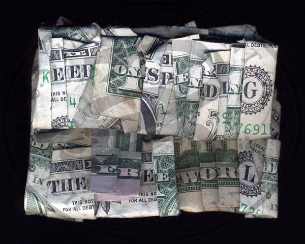 I Dollari parlanti di Dan Tague | Collater.al - Keep On Spending In The Free World
