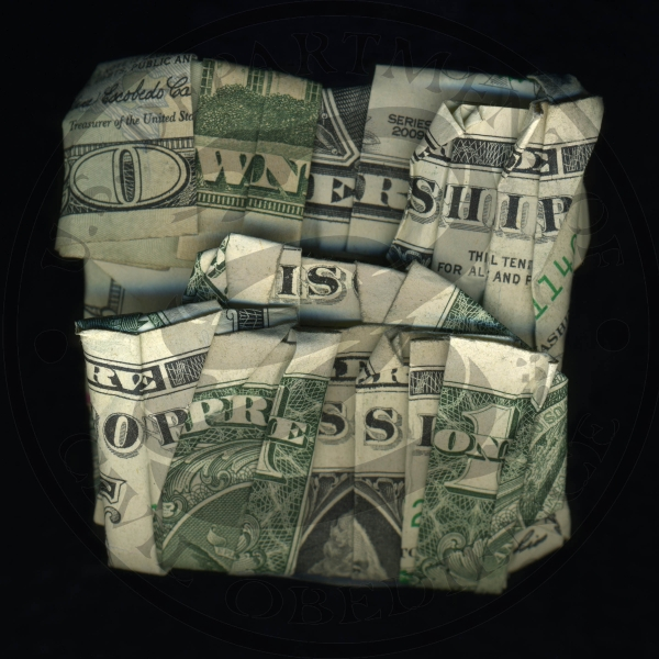 I Dollari parlanti di Dan Tague | Collater.al - Ownership is Oppression