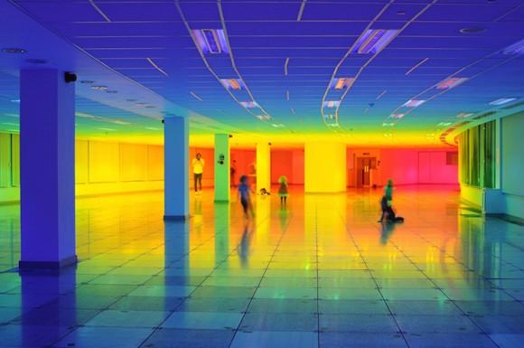Our Colour - L'arcobaleno di Liz West alla Biennale di Bristol | Collater.al