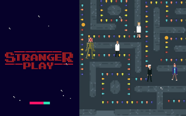 Pac-Man + Stranger Things = Stranger Play
