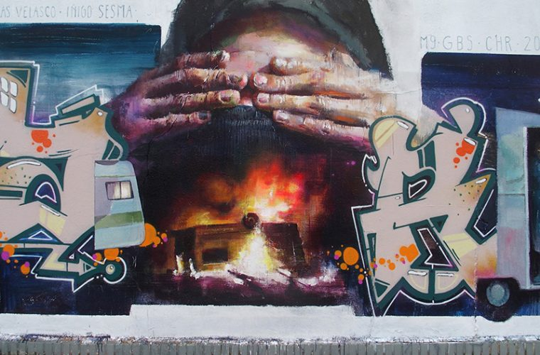 La street art pittorica di Sebas Velasco
