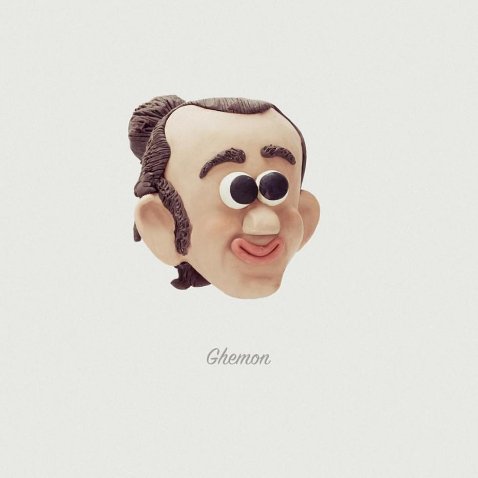 Le Rapper Faces in plastilina di Stefano Colferai | Collater.al