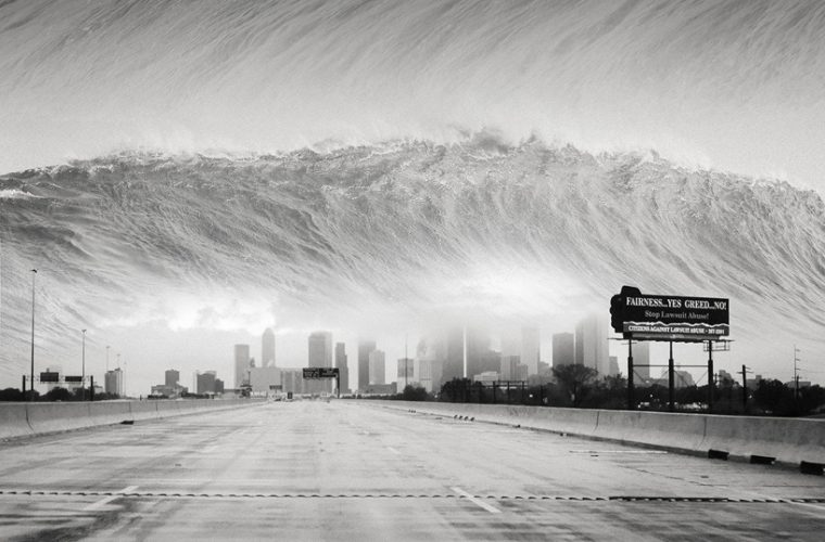DrOWNing SKY – I fotomontaggi surreali di J. Flynn Newton