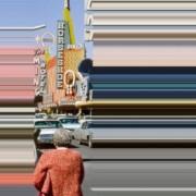 Lines we live by - Gli scatti vintage manipolati da Frances Berry   Collater.al evd