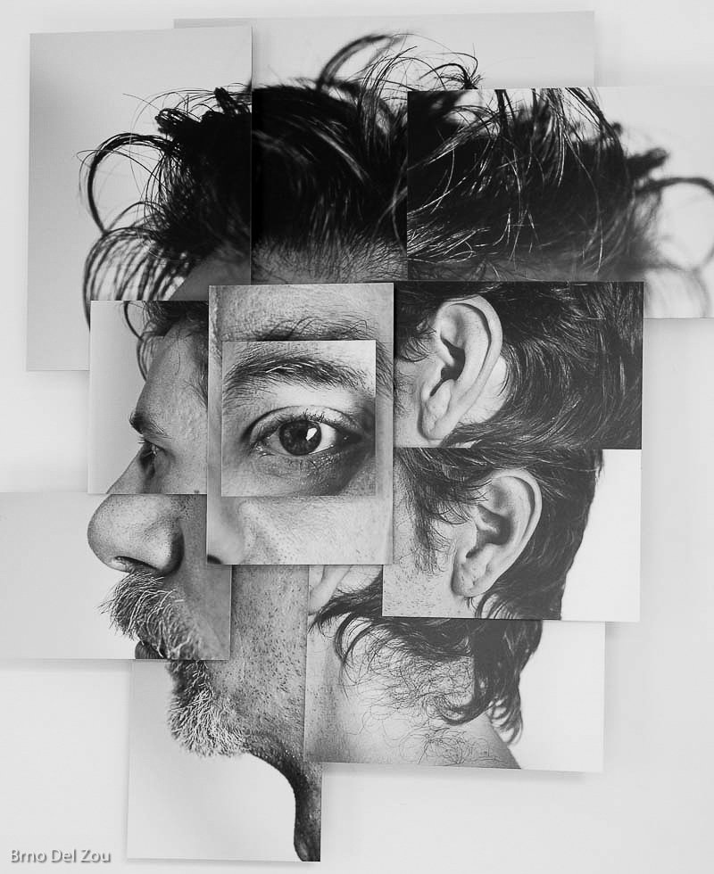 Portraits morcelés - Le accattivanti photo-sculptures di Brno Del Zou   Collater.al