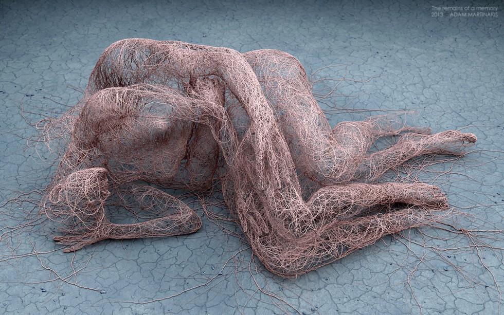 Le sculture digitali di Adam Martinakis   Collater.al