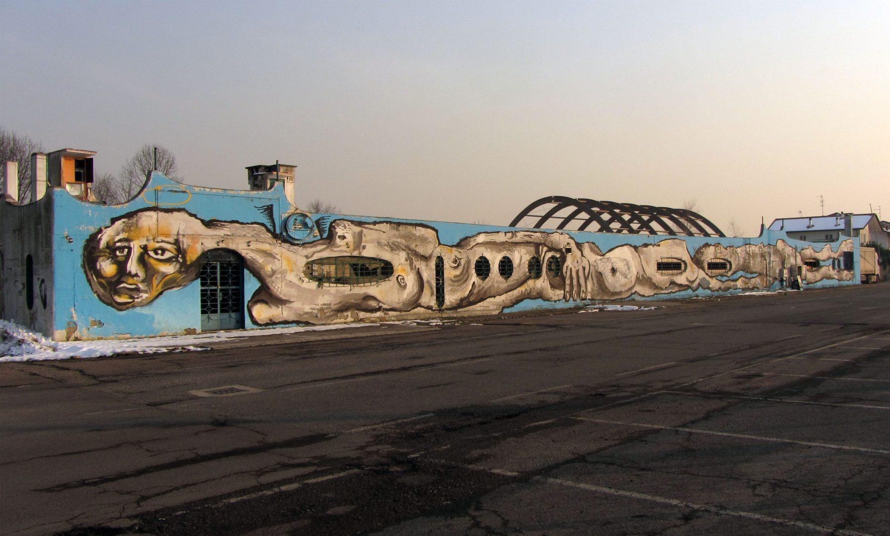 CANEMORTO, la street art è sovversione | Collater.al
