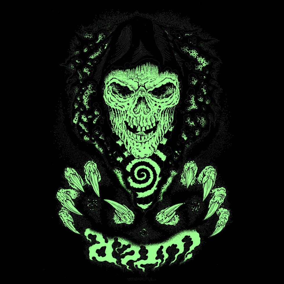 Grim Reaper La Nightmare Tee Di Iuter Disegnata Da