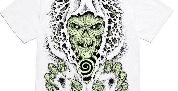 Grim Reaper – La Nightmare Tee di IUTER disegnata da Scarful