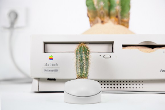 Plant your Mac! - Prodotti Apple trasformati in vasi e fioriere | Collater.al