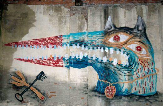 CANEMORTO, la street art è sovversione