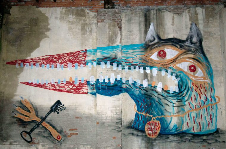CANEMORTO – La street art è sovversione