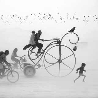 Victor Habchy - Burning Man | Collater.al