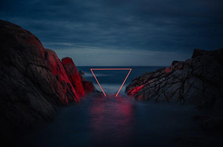 Le installazioni luminose di Nicolas Rivals