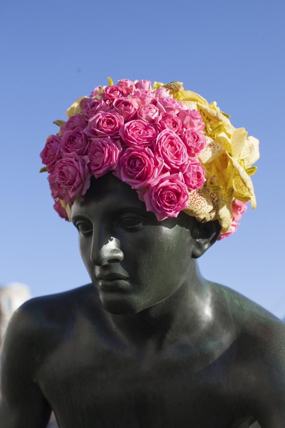Fleurissements - Le installazioni floreali di Geoffroy Mottart | Collater.al