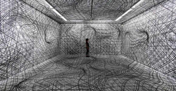 Le illusioni ottiche di Peter Kogler   Collater.al