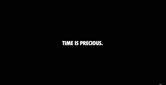 Time Is Precious - Gli spot senza immagini di Nike | Collater.al
