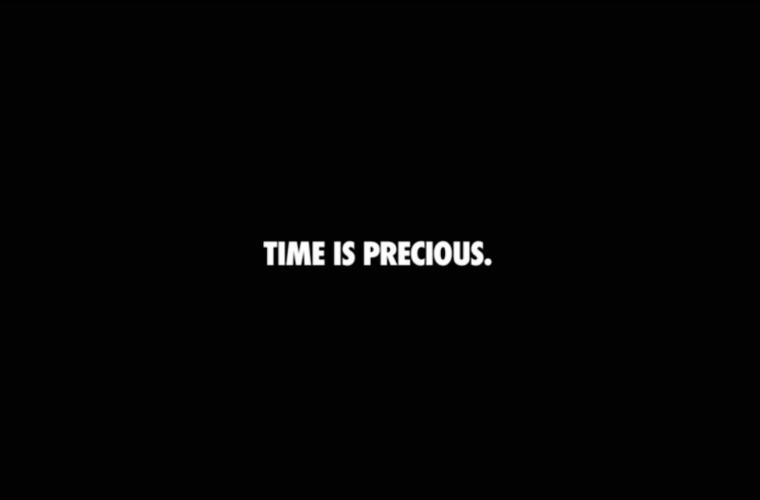 Time Is Precious – Gli spot senza immagini di Nike