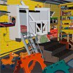Gli spazi domestici di Jonas Wood | Collater.al