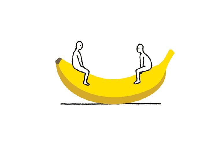 Bananas, le gif deliranti di Julian Frost