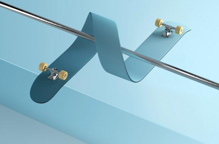Gli skateboard impossibili di Rutger Paulusse