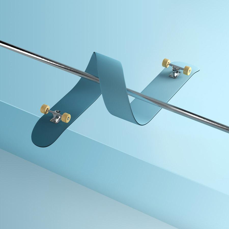 Skateboarding - Gli skateboard impossibili di Rutger Paulusse   Collater.al