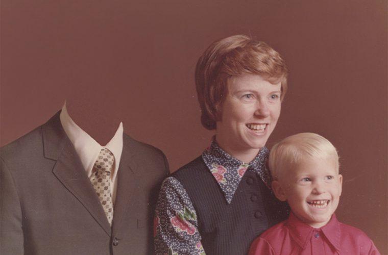 Dads – L'assenza paterna nelle foto manipolate di Camille Léveque