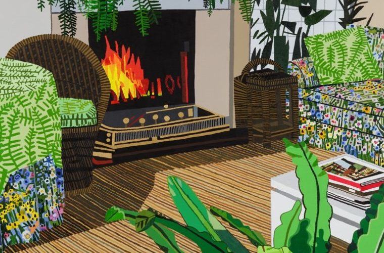 Gli spazi domestici di Jonas Wood