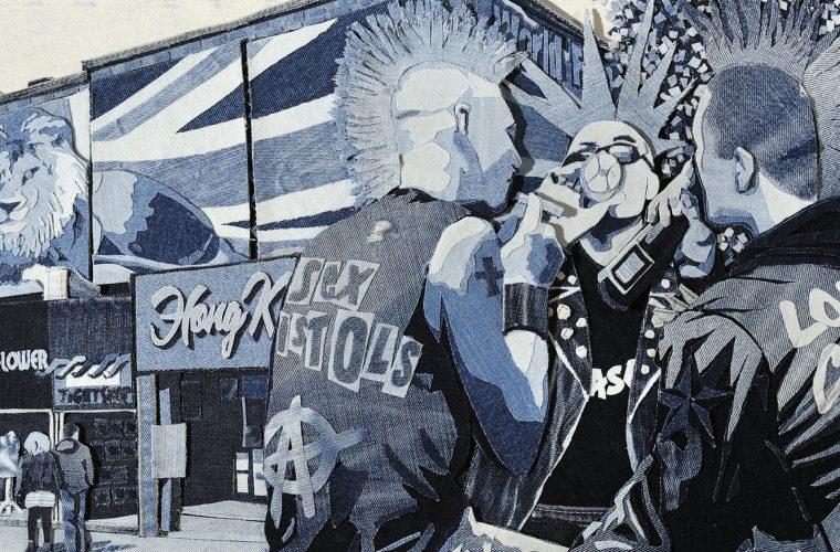 I dipinti in jeans di Ian Berry