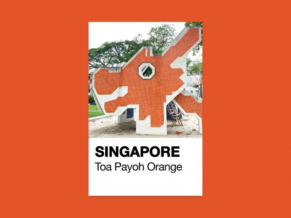 Jonathan Tan - Singapore Pantone | Collater.al