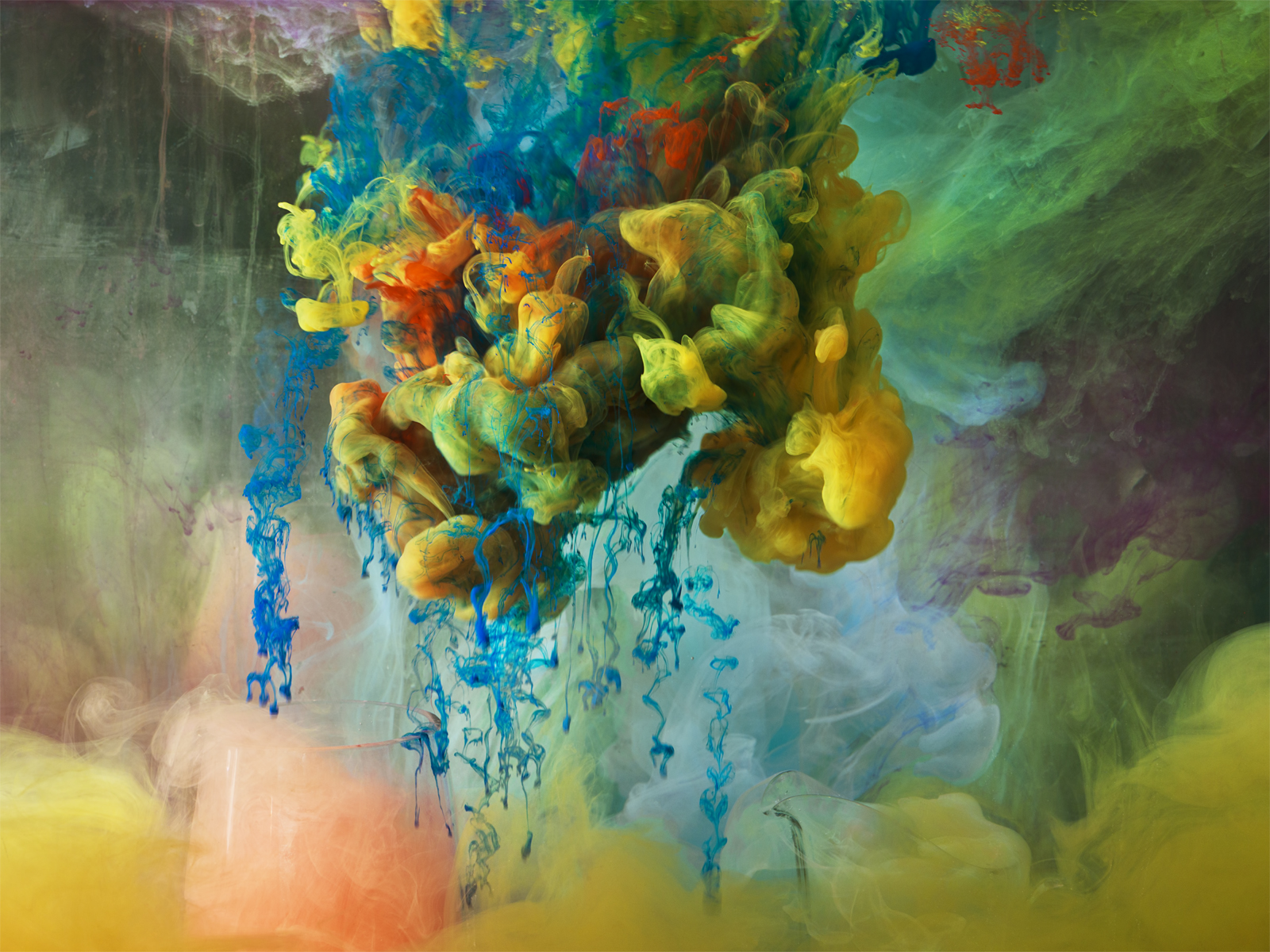 Abstract images - L'astrattismo liquido di Kim Keever | Collater.al