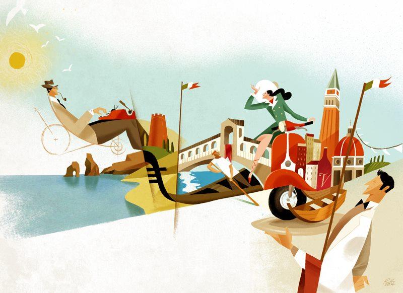 MAGNIFICO Illustration Agency - Guasco