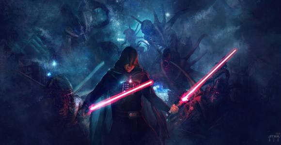 Star Wars VS Alien - Le illustrazioni mashup di Guillem H. Pongiluppi