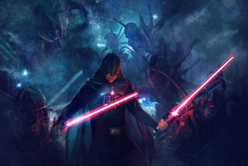 Star Wars VS Alien – Le illustrazioni mashup di Guillem H. Pongiluppi