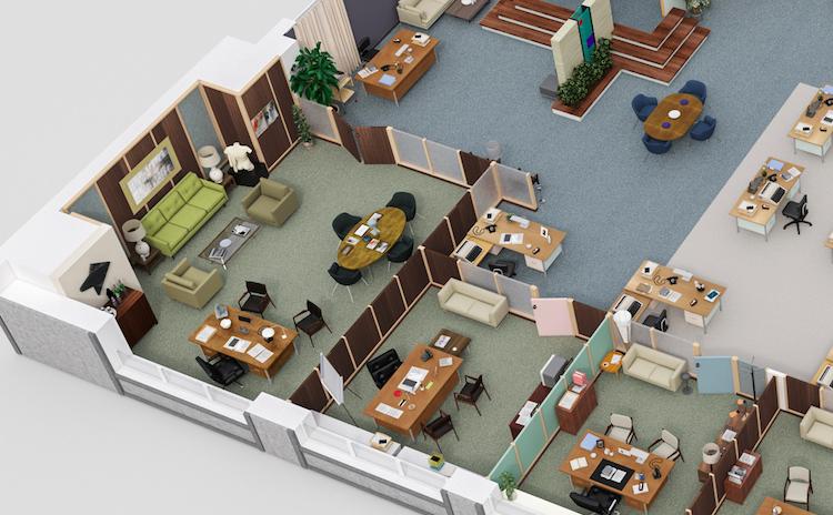 Pearson Specter Litt Floor Plan 3d Grundrisse Von Serien