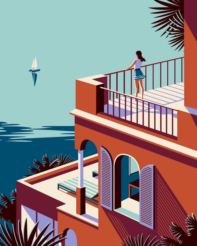 Le illustrazioni glamour e minimali di Malika Favre | Collater.alLe illustrazioni glamour e minimali di Malika Favre | Collater.al