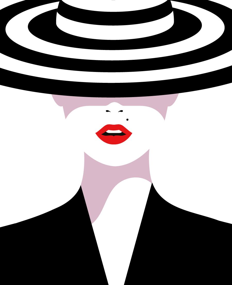 Le illustrazioni glamour e minimali di Malika Favre | Collater.al