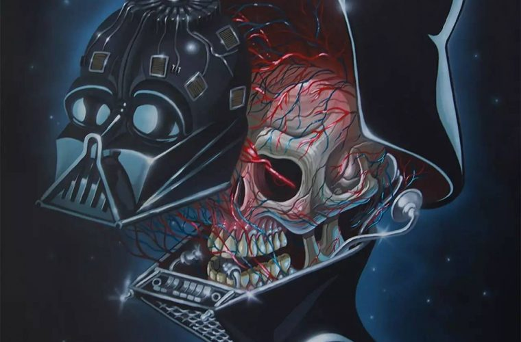 Between horror and reality, the caustic illustrations by Nychos