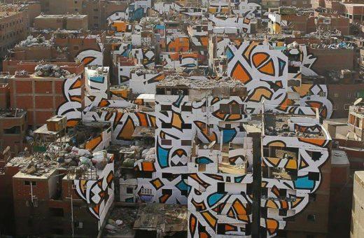 Perception – Il graffito optical di El Seed al Cairo
