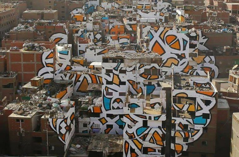 Perception – Il graffito optical di El Seed al Cairo