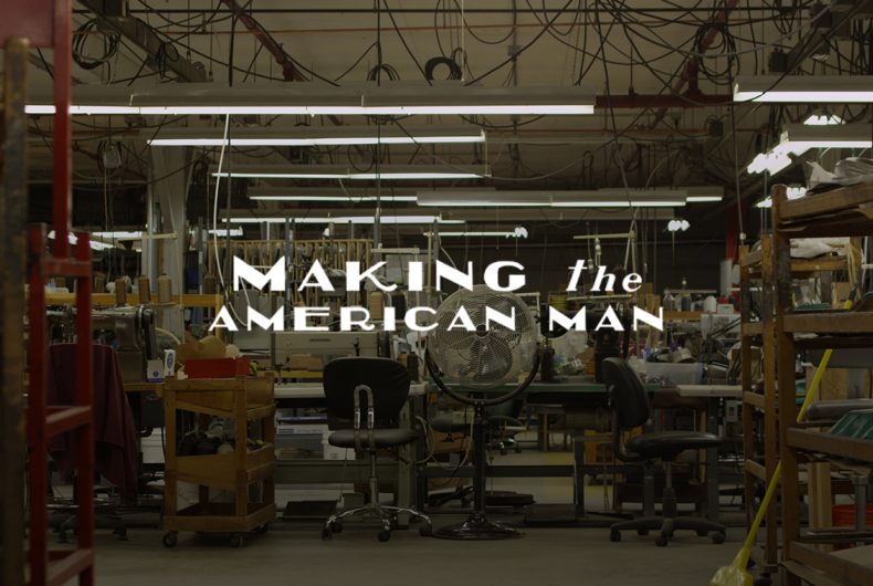 Making the American Man – Il documentario di Gregory Caruso sul Made in the U.S
