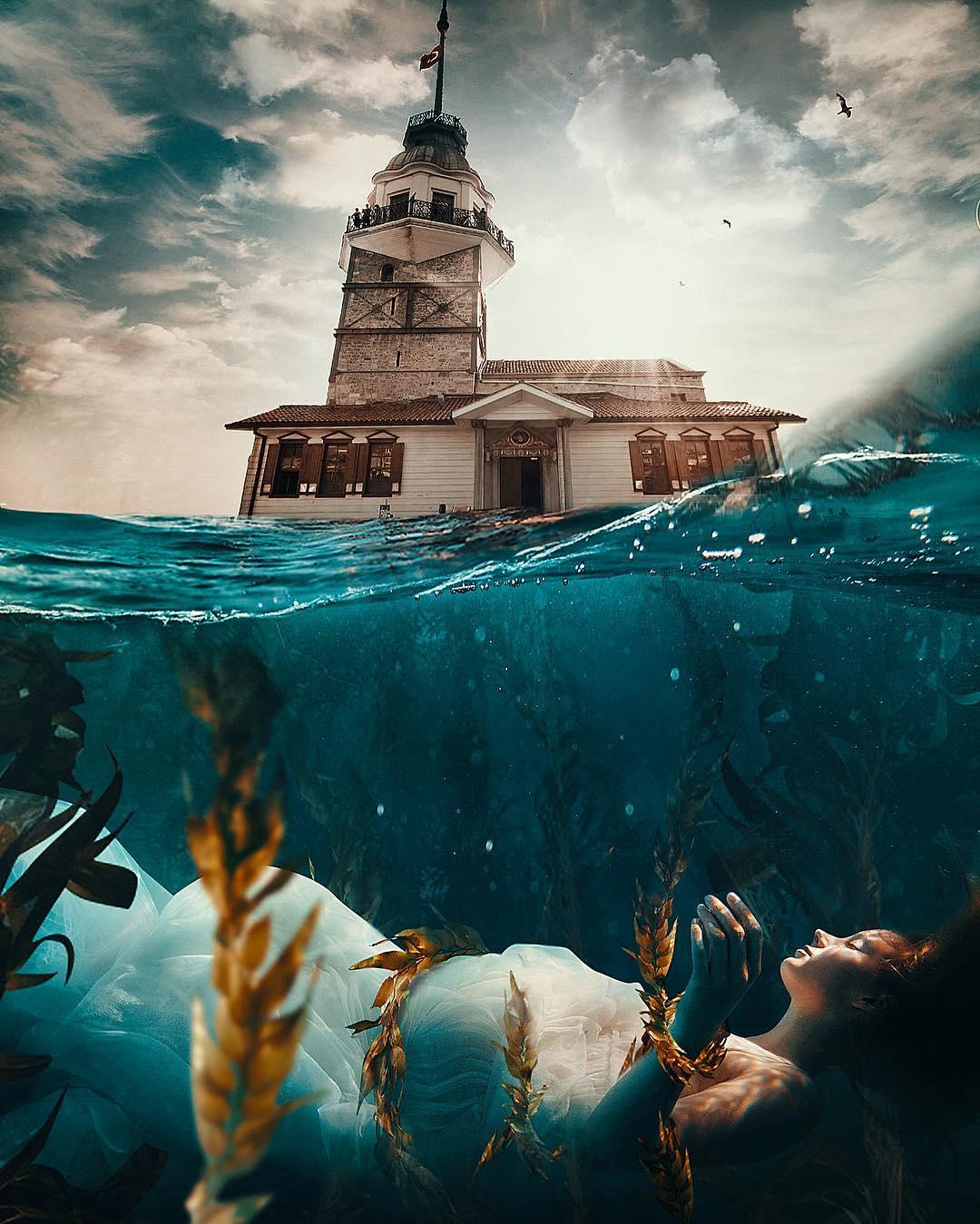 Le photo manipulations di Hüseyin Sahin   Collater.al