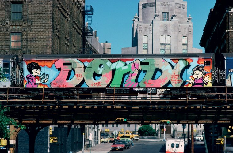 '1976 New York Graffiti Experience' a film by Fenton Lawless