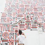 ANTES, DESPUÉS, AHORA, due graffiti per celebrare la mostra di Sixe Paredes | Collater.al