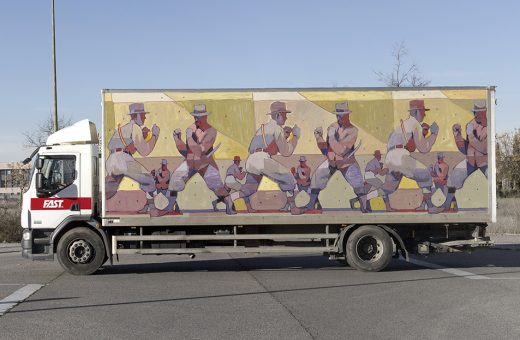 Aryz for the Truck Art Project