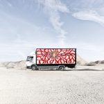 Aryz a lavoro per il Truck Art Project | Collater.al