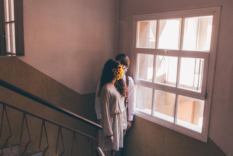 Bouquet Project, fiori sui volti degli amanti   Collater.al