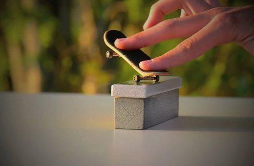 Short video for Breakfast – Fingers of Steel, fare skateboard con le dita