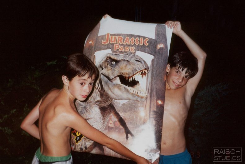 The two children who in '93 remade Jurassic Park